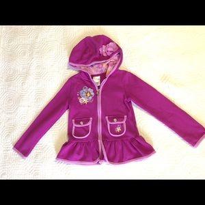 Disney zip hoodie